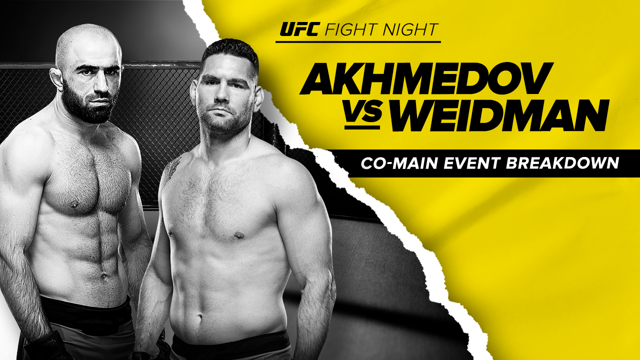 UFC Fight Night Co-Main Event Picks: Weidman vs. Akhmedov