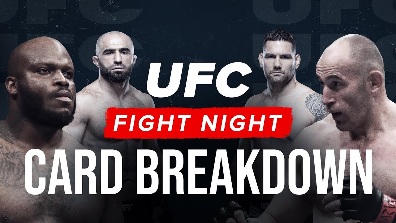 [Watch] UFC Fight Night: Lewis vs Oleinik | Full Breakdown & Picks