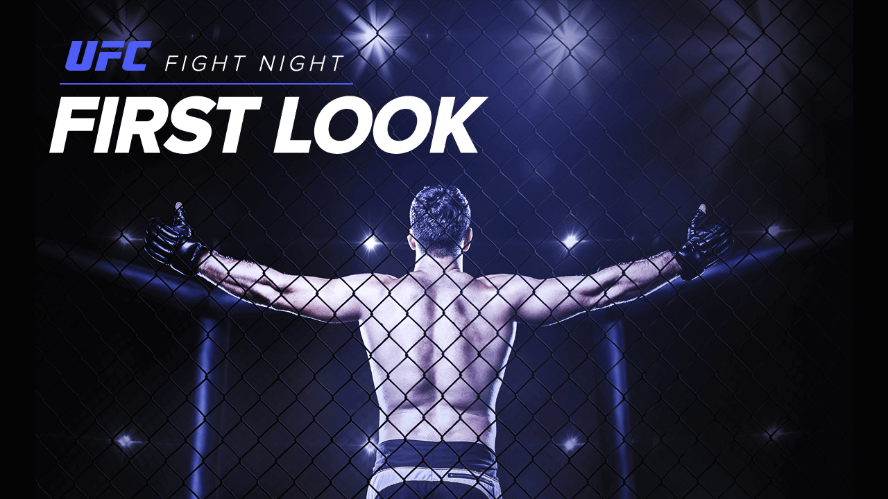 UFC Fight Night: Jack Hermansson vs. Kevin Holland First Look