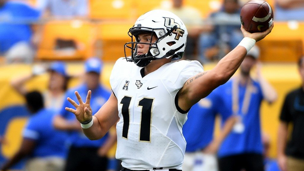 UCF vs. Georgia Tech: NCAAF Week 3 Betting Picks and Predictions