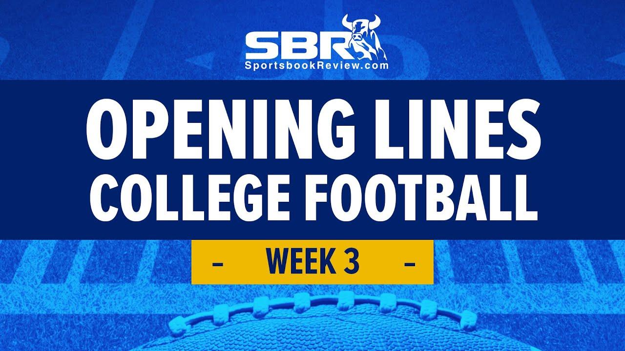 College Football Week 3 Preview!   NCAAF Games Picks & Predictions