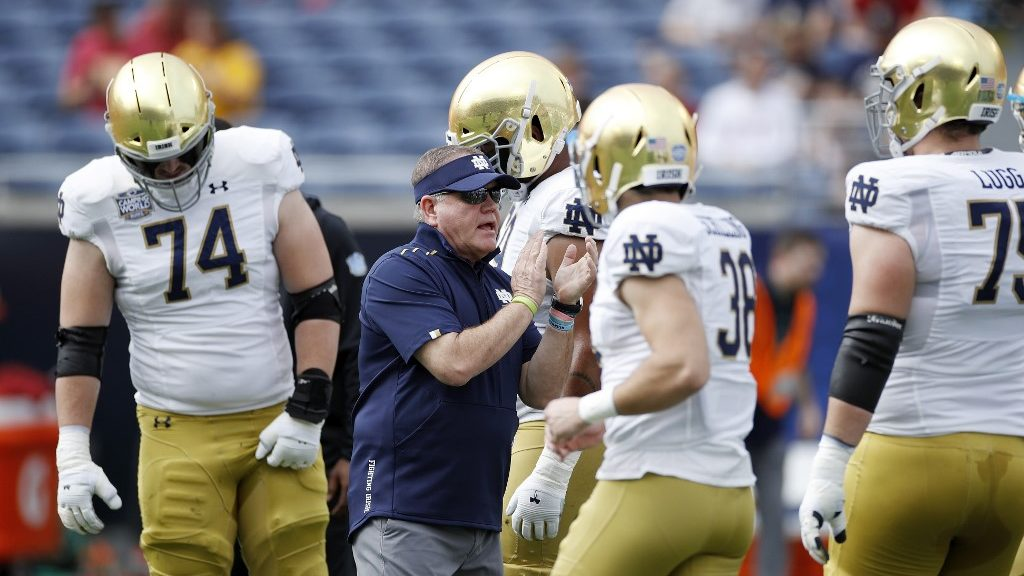 South Florida vs. Notre Dame: NCAAF Week 3 Betting Picks and Predictions