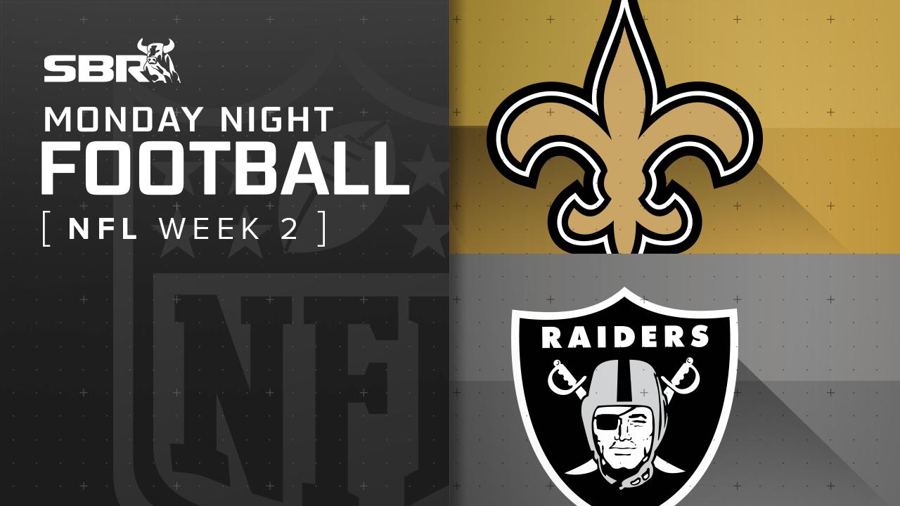 Saints vs. Raiders: Week 2 NFL Monday Night Football Picks and Predictions