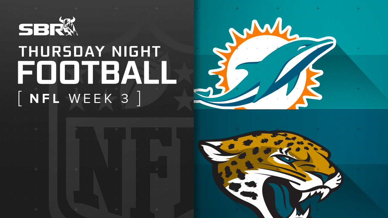 Dolphins vs. Jaguars: NFL Week 3 Thursday Night Football Picks and Predictions