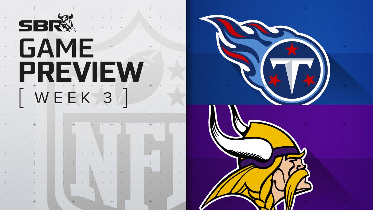 Titans vs. Vikings: NFL Week 3 Picks and Game Predictions