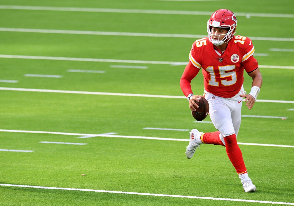Patrick Mahomes is the favorite for the MVP award