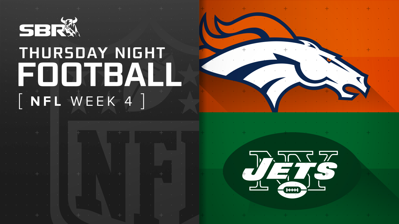 Broncos vs. Jets: NFL Week 4 Thursday Night Football Picks