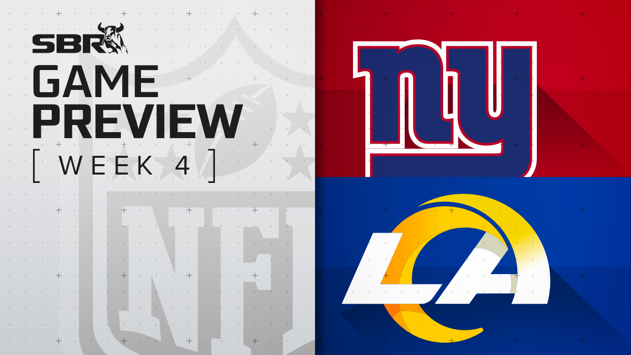 Giants vs. Rams: NFL Week 4 Picks and Game Predictions
