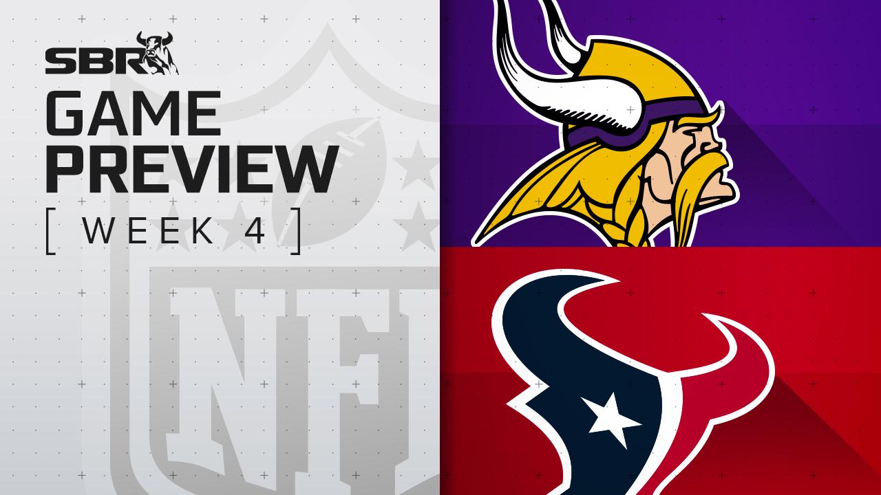 Vikings vs. Texans: NFL Week 4 Picks & Game Predictions