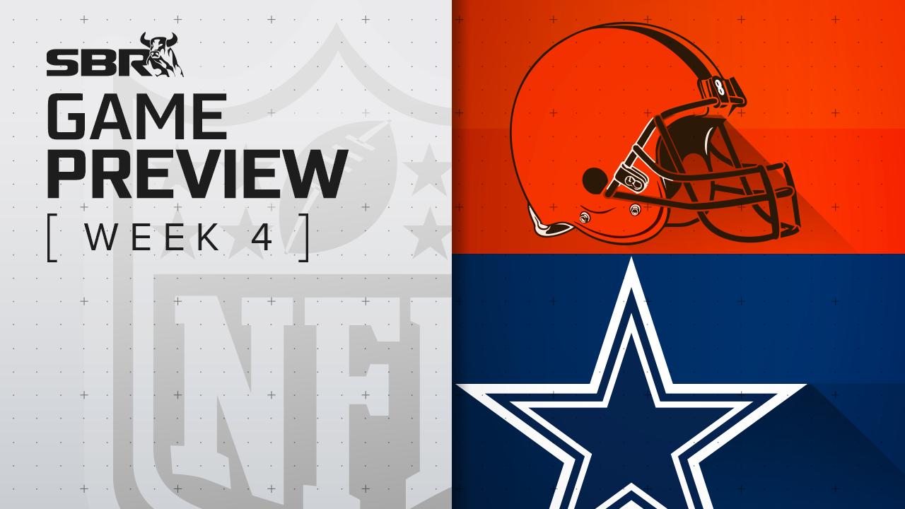 Browns vs. Cowboys: NFL Week 4 Picks and Game Predictions