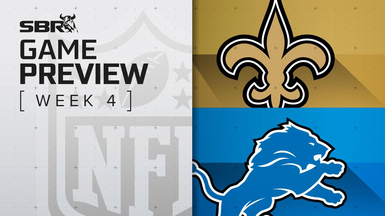 Saints vs. Lions: NFL Week 4 Picks and Game Predictions