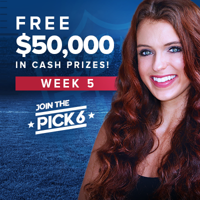 NFL Pick 6 Contest Bets for Week 5: COVID-19 Has Plagued the NFL