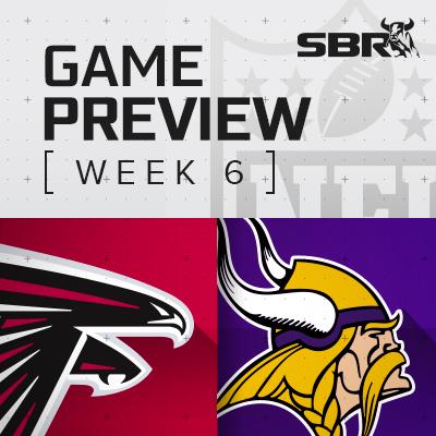 Falcons vs. Vikings: NFL Week 6 Picks and Game Predictions