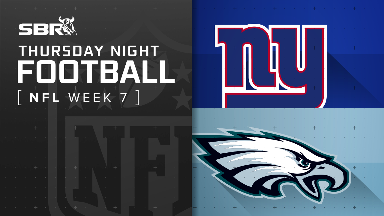 Giants vs. Eagles: NFL Week 7 Thursday Night Football Picks