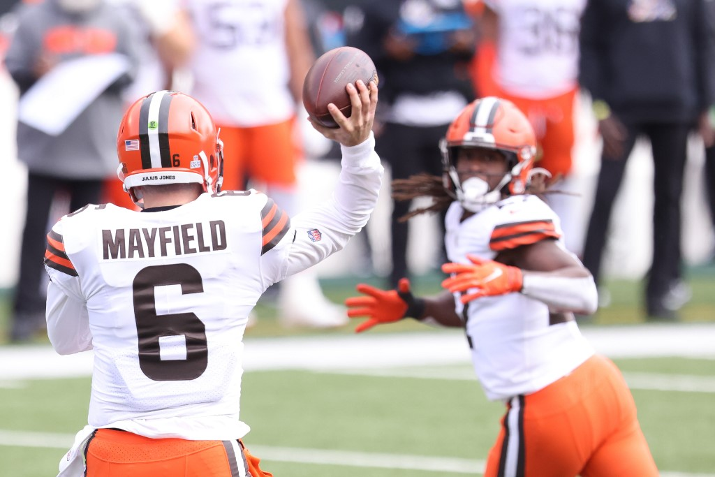 The Browns have been playing great football this year