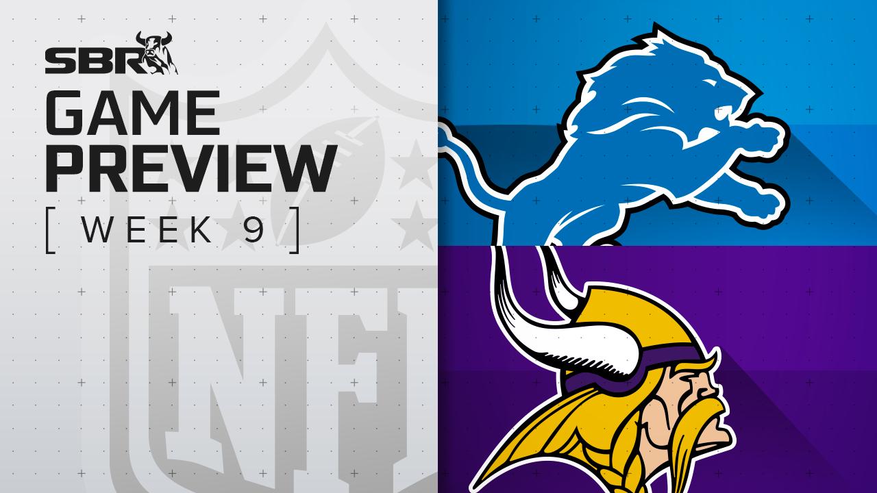 Lions vs. Vikings: NFL Week 9 Picks and Game Predictions