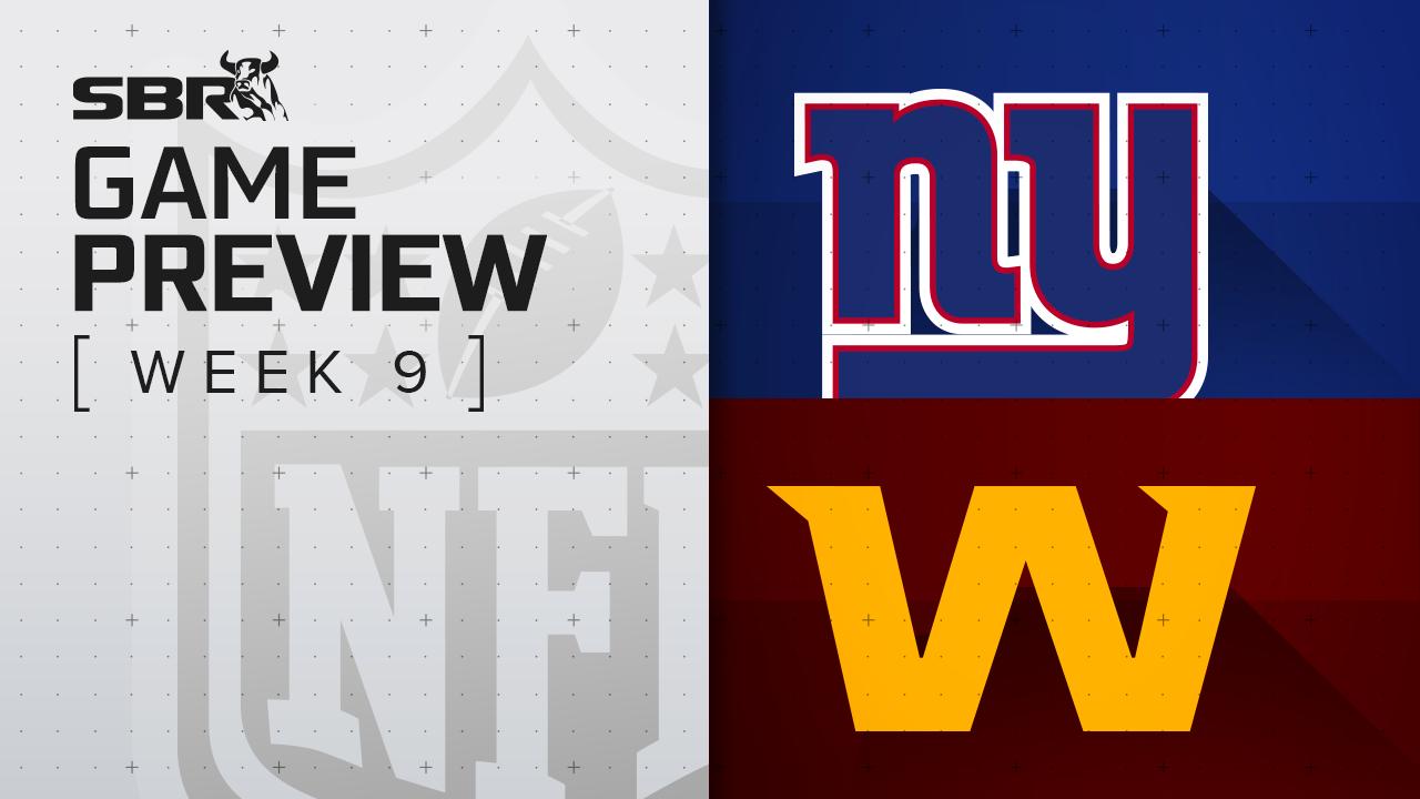 Giants vs. Washington: NFL Week 9 Picks and Game Predictions