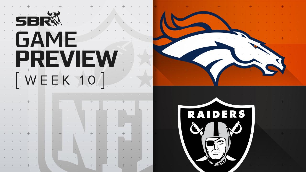 Broncos v Raiders: NFL Week 10 Picks and Game Predictions