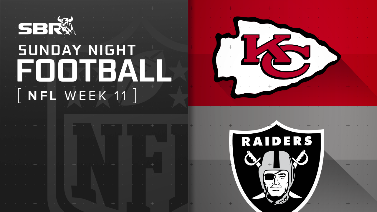 Chiefs vs. Raiders: NFL Week 11 Sunday Night Football Game Preview