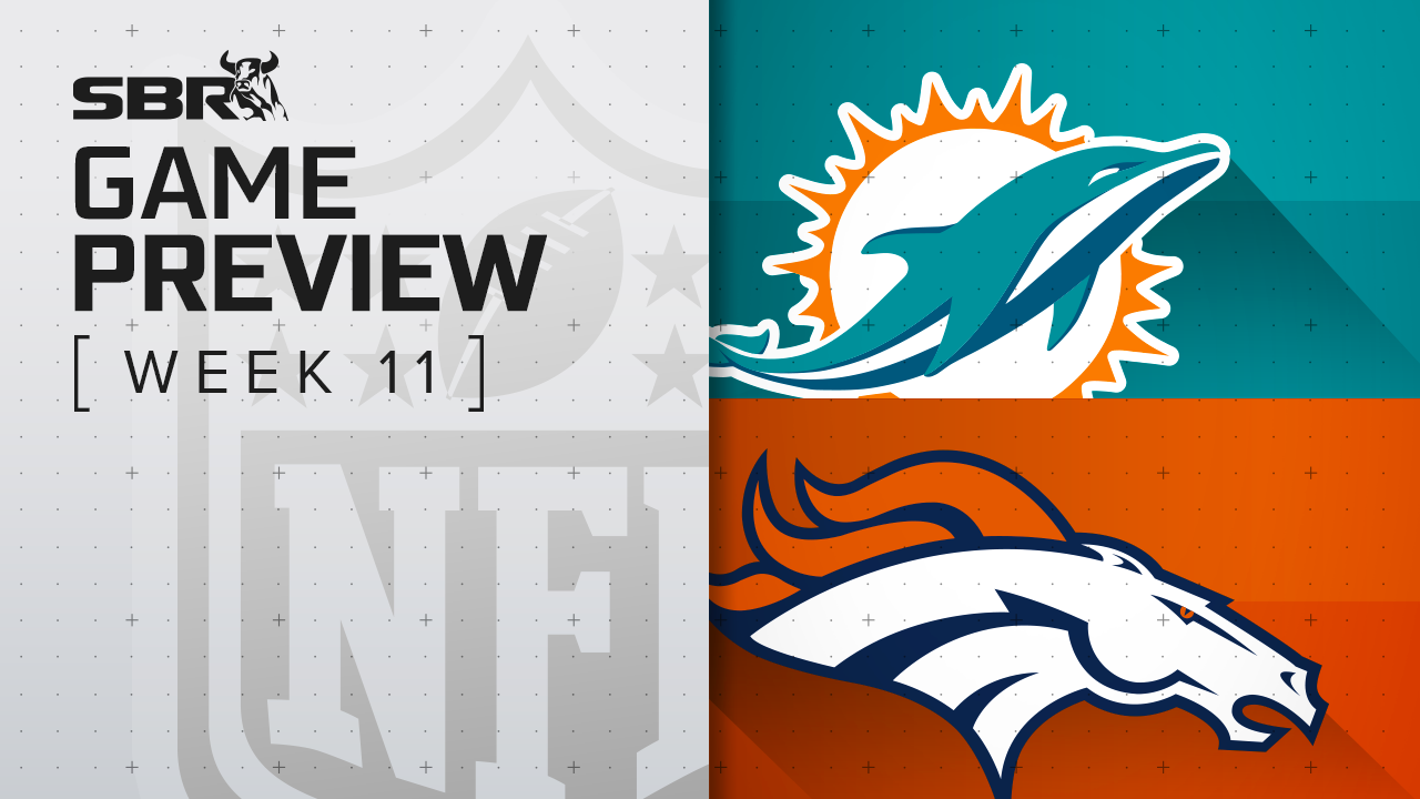 Dolphins vs. Broncos: NFL Week 11 Picks and Game Predictions