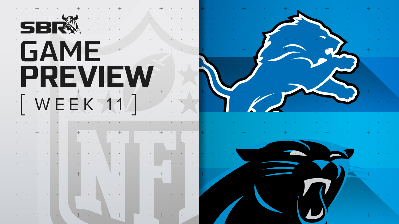 Lions vs. Panthers: NFL Week 11 Picks and Game Predictions