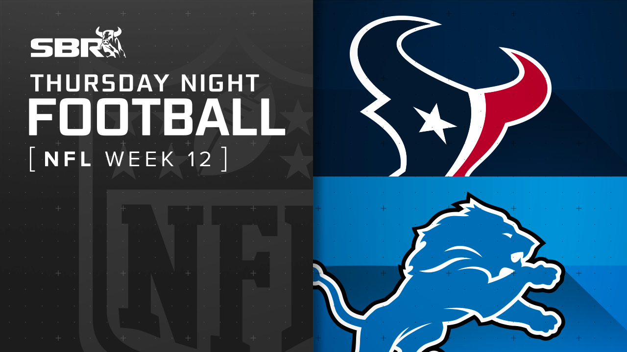 Texans vs. Lions: NFL Week 12 Picks and Game Predictions