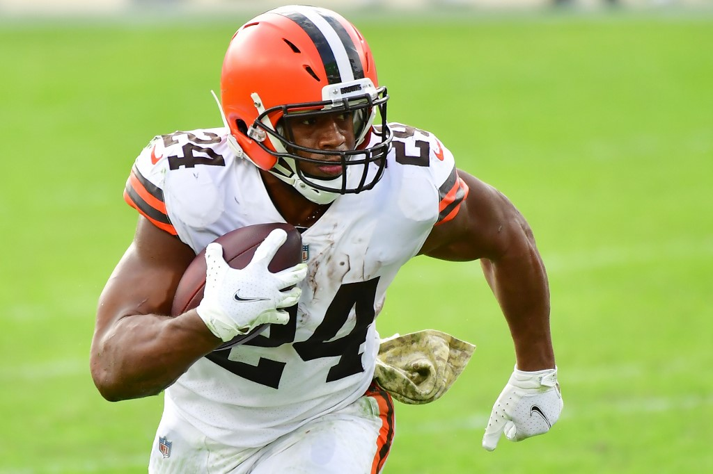 Nick Chubb has been an important part of the Browns offense so far.