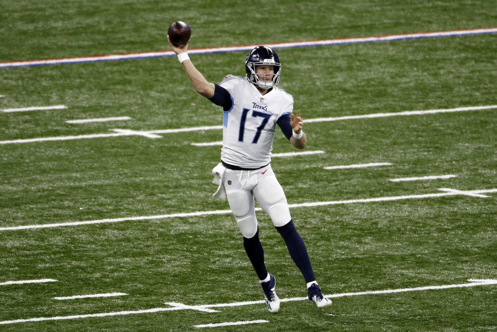 Ryan Tannehill is expected to lead the Titans to victory this Sunday