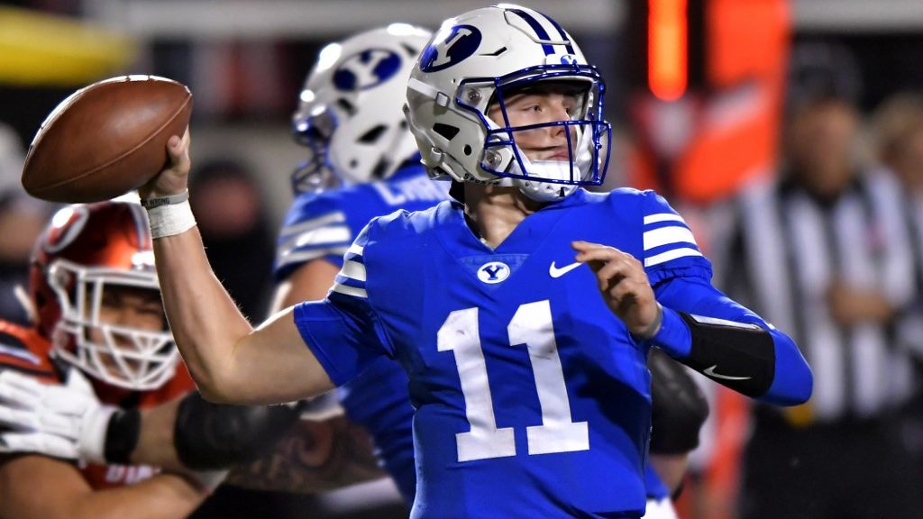 BYU vs. Coastal Carolina NCAAF Week 14 Betting Picks and Game Predictions