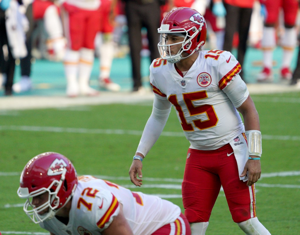 Mahomes is coming off a rough week