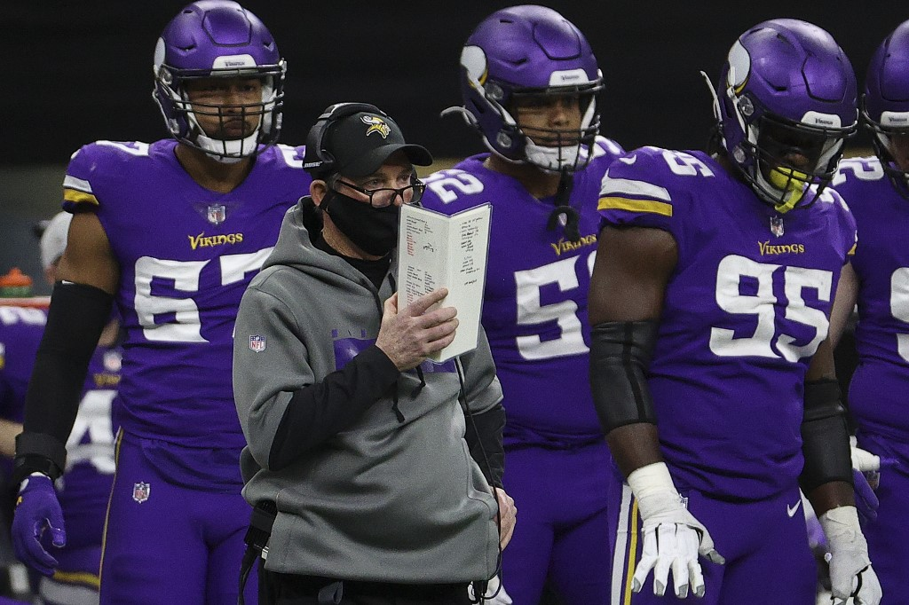 Mike Zimmer's job might be on the line