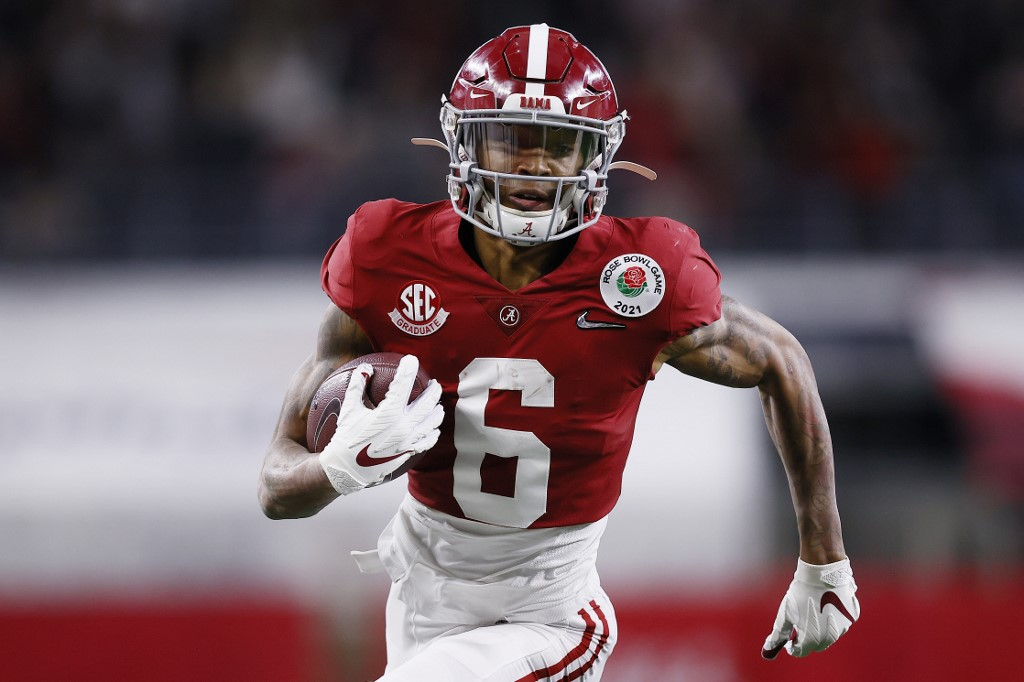 Devonta Smith is one of Alabama's multiple weapons