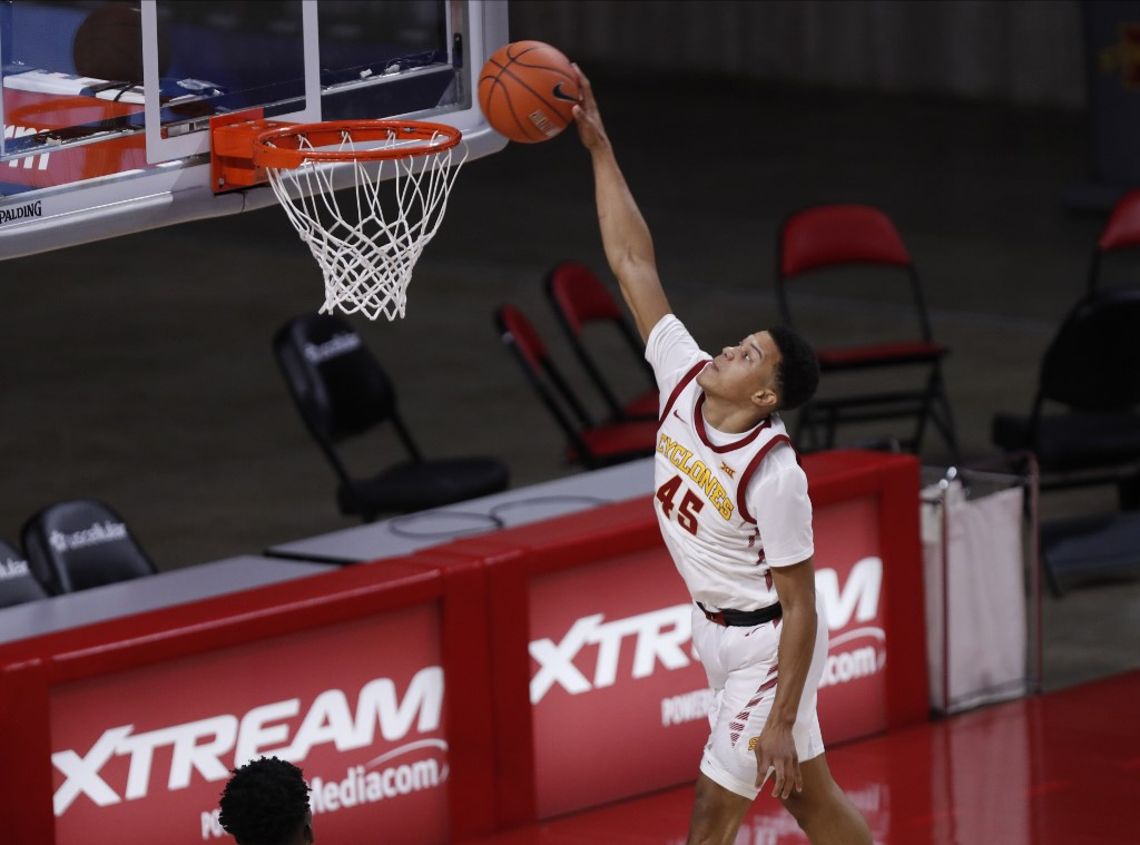Rasir Bolton of the Cyclones