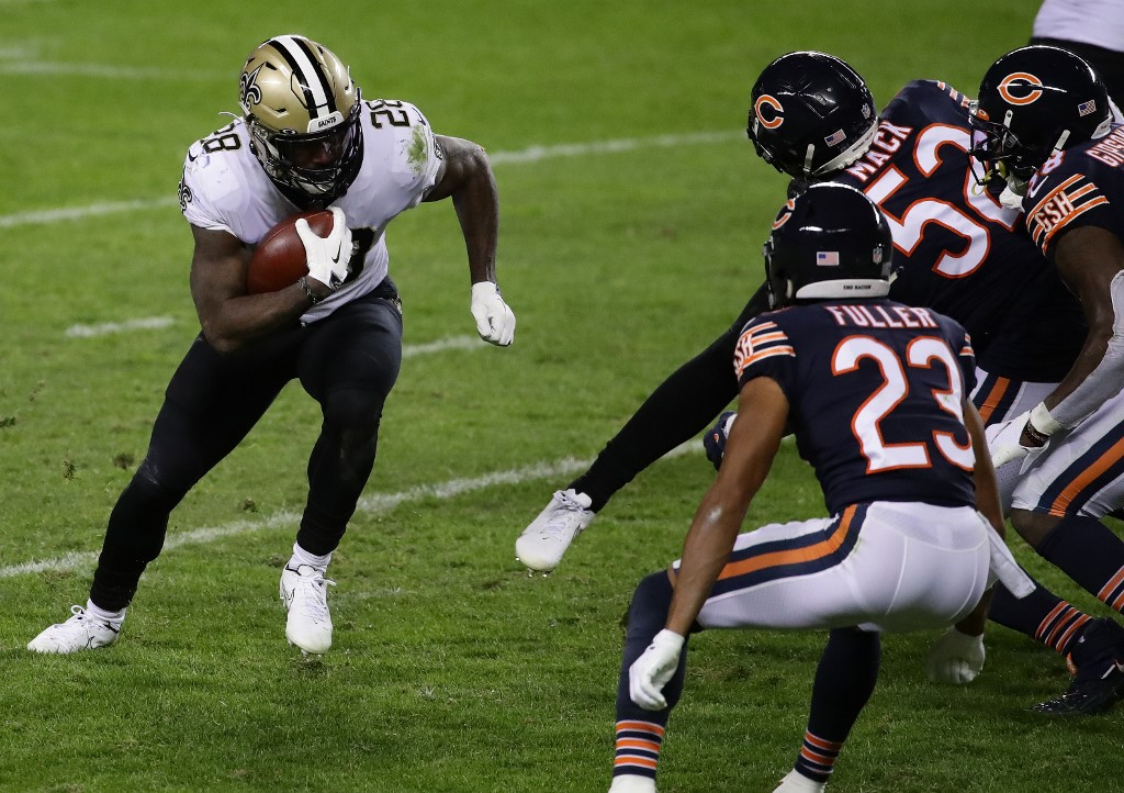 The Saints play the Bears on Wild Card Weekend
