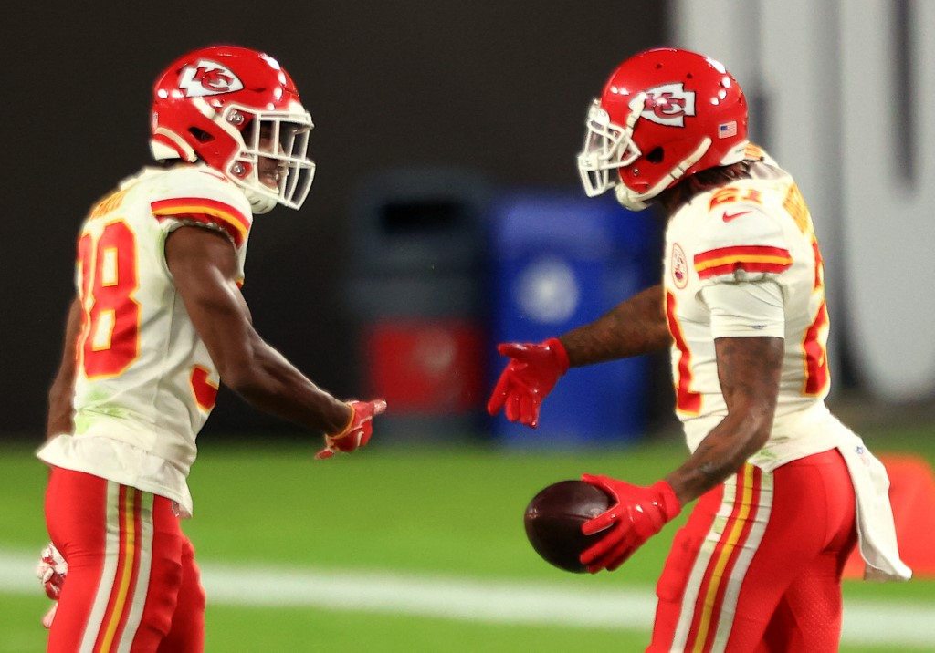 Breland and Sneed of the Chiefs