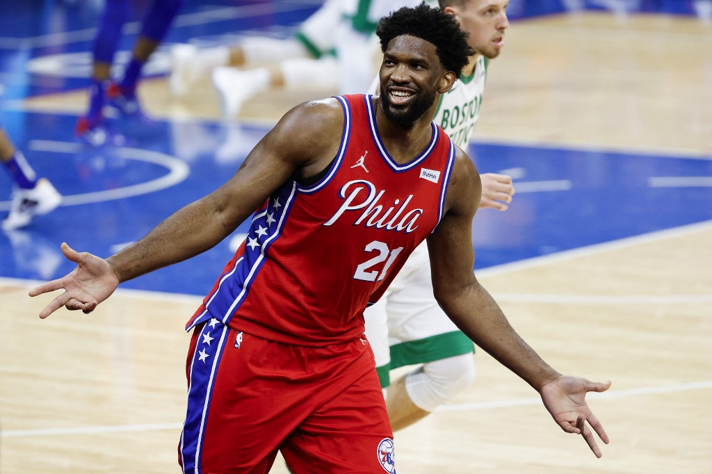 Joel Embiid of the 76ers