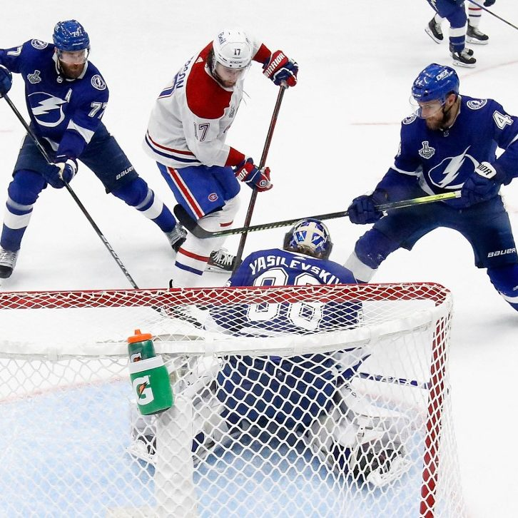 Tampa Bay Lightning vs. Montreal Canadians: Stanley Cup Final Game 3