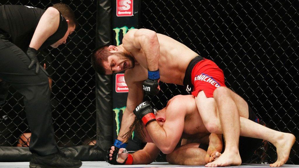 UFC Vegas 31: Islam Makhachev vs. Thiago Moises Punching Parlay