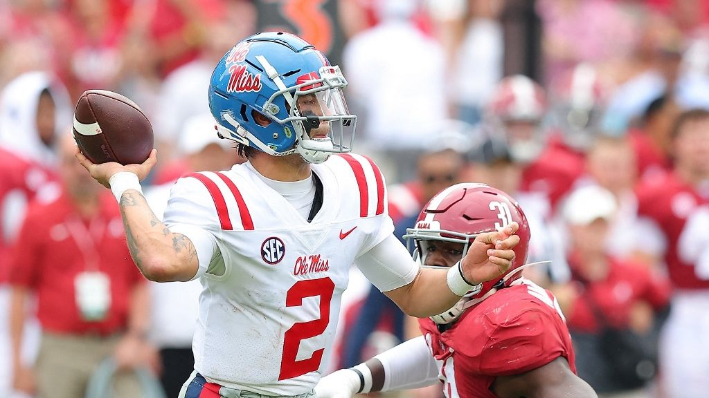 Ole Miss vs. Tennessee College Football Week 7 Picks and Predictions
